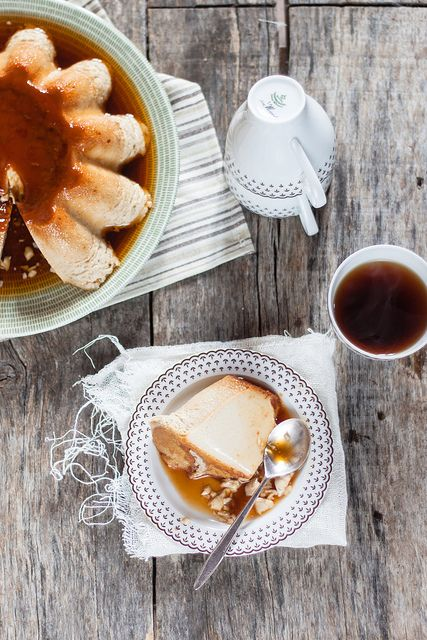 Latte alla portoghese by Juls1981, via Flickr  creme caramel