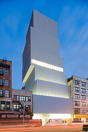 SANAA  Location: 235 Bowery, New York, NY 10002 New Museum of Contemporary Art, New York City