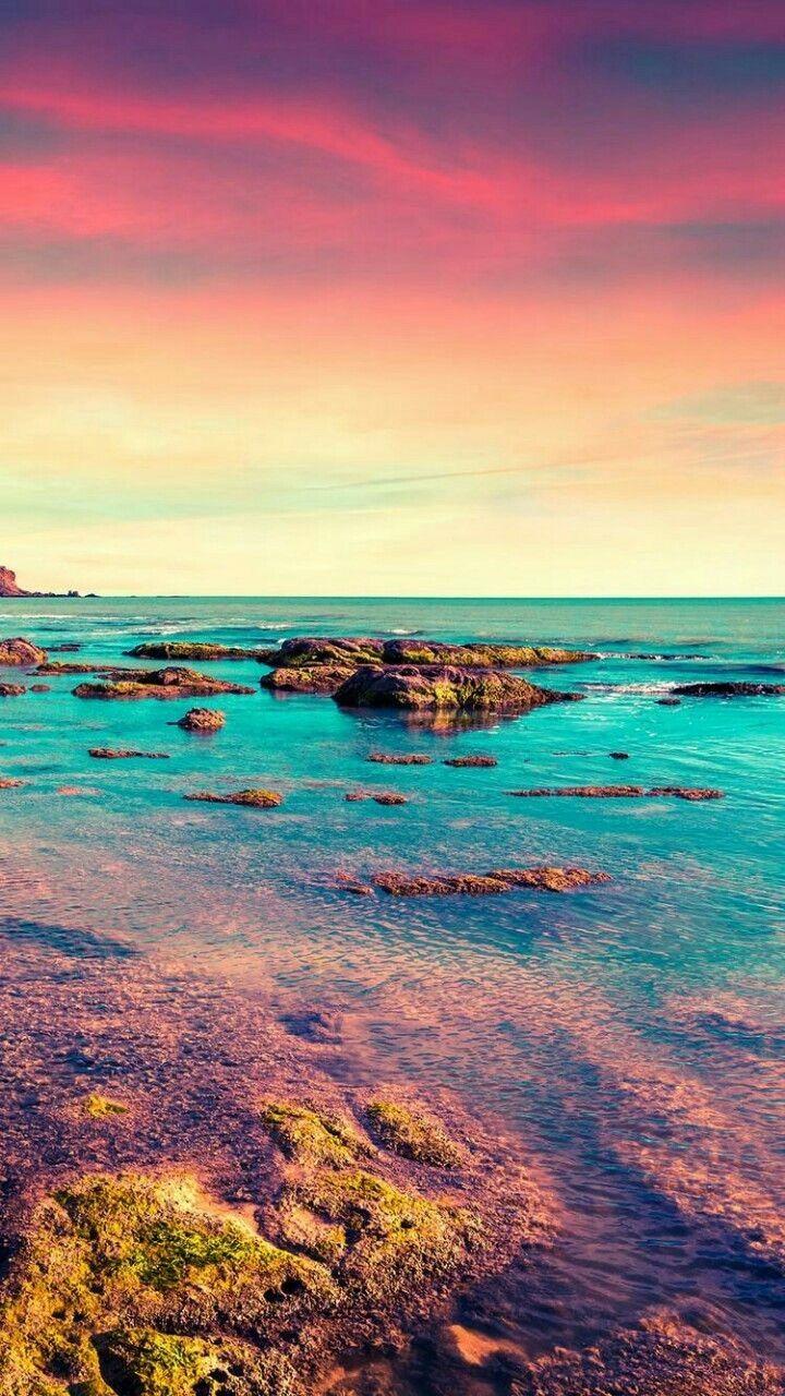Sky Body Of Water Sea Nature Ocean Coast Nature Iphone Wallpaper Hd Phone Wallpapers Nautical Wallpaper