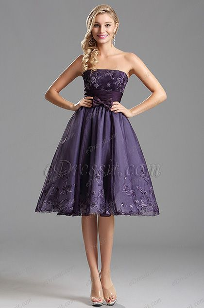 10 Best ideas about Purple Party Dress on Pinterest  Short party ...