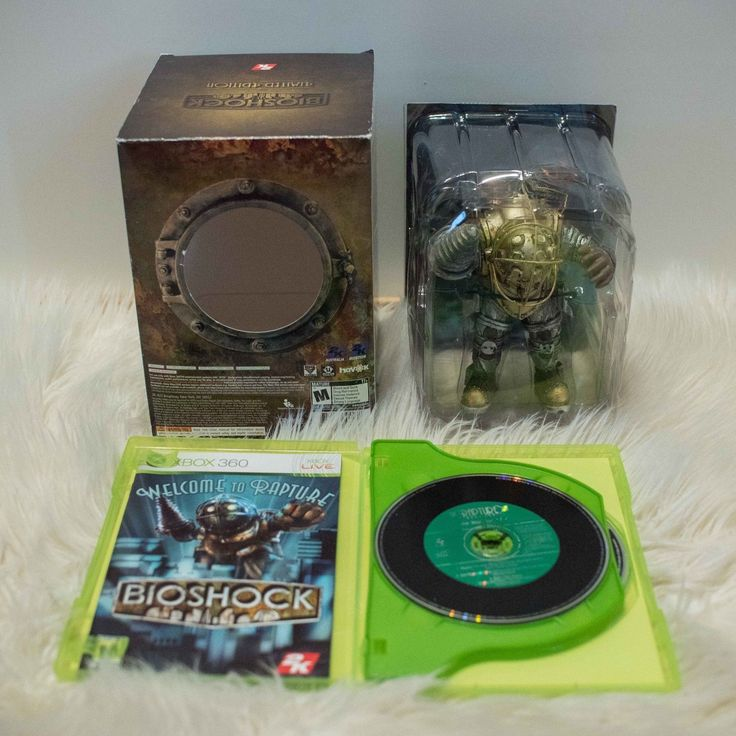 Bioshock Limited Edition for XBOX 360 Complete with Sealed Big Daddy Figurine: $49.00 (0 Bids) End Date: Saturday Mar-10-2018 14:48:28 PST…