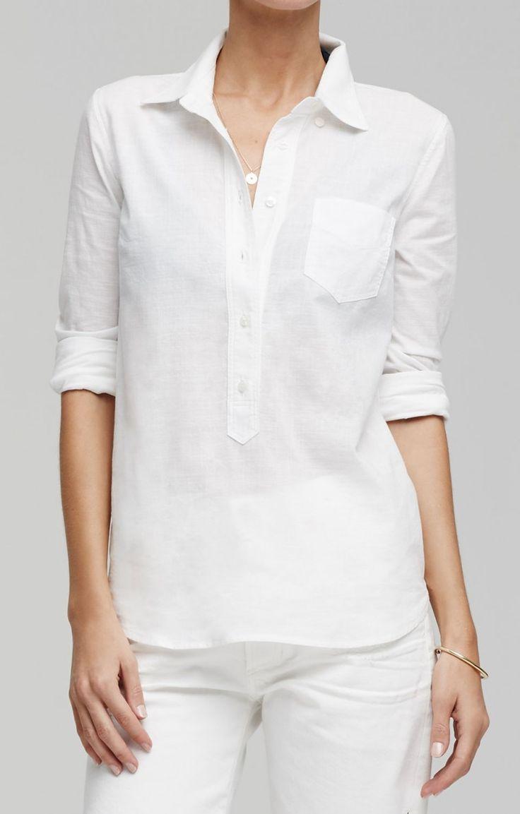 Avery Shirt in White