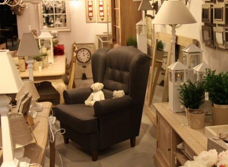 Fotel / armchair Bjarnum firmy MTI Furrninova