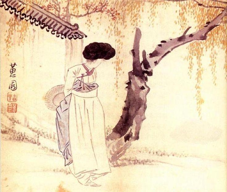 Hyewon-Gidalim-763x644 - Shin Yun-bok - Wikipedia, the free encyclopedia