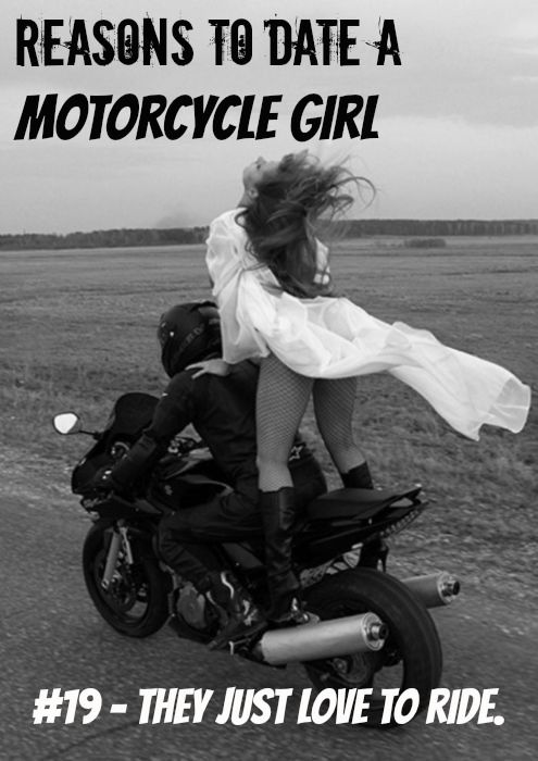 reasons to date a motorcycle girl 19