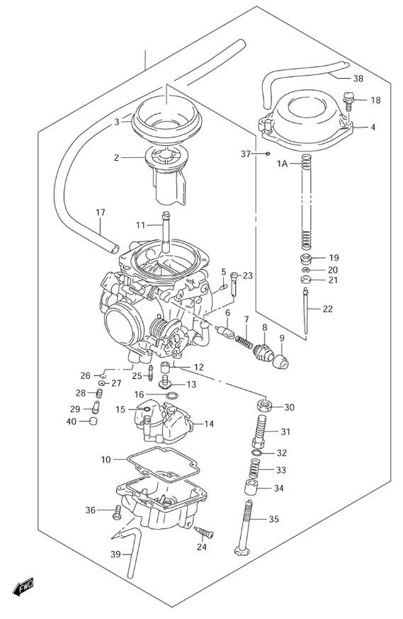 carb exploded view