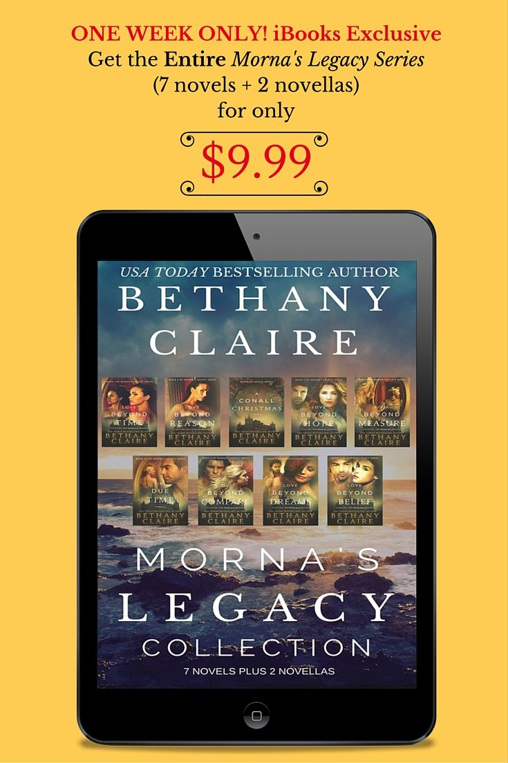 Through July 26th Get The Entire Mornas Legacy Collection 7 Novels 2 Novellas