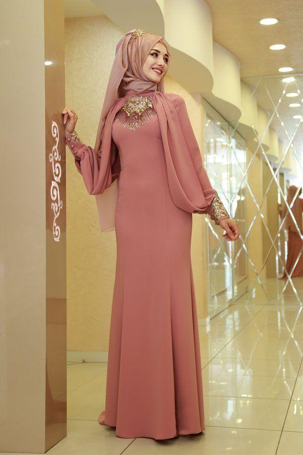 Sik Ve Ozel Tesettur Soz Elbisesi Modelleri Moda Tesettur Giyim Moda Stilleri Elbise Modelleri Giyim