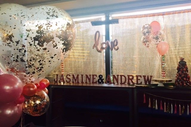 Engagement Party Balloons