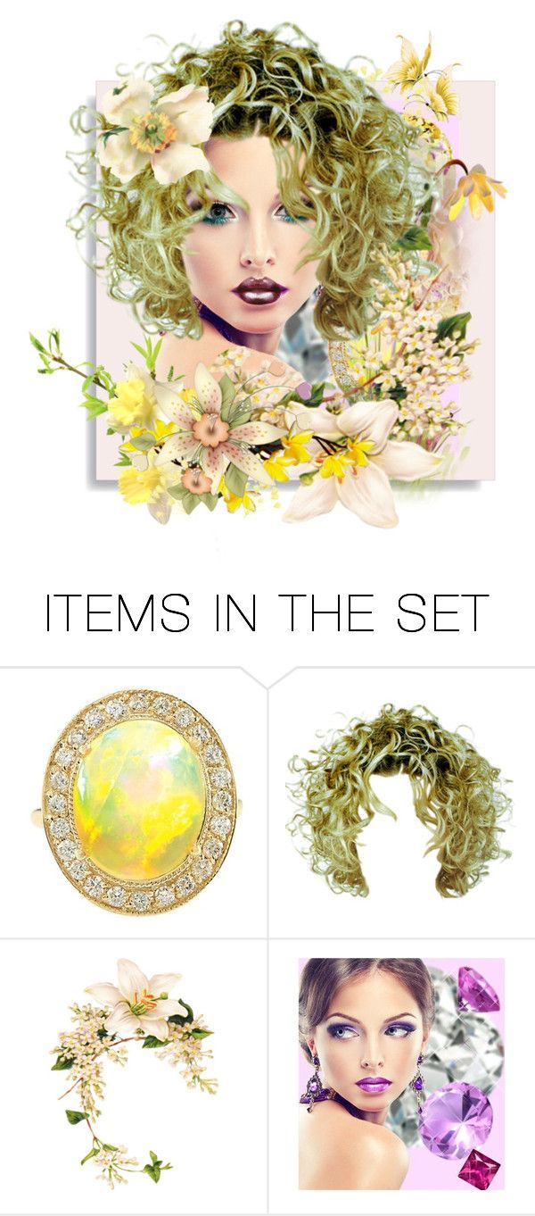 """♥ Colors Of Spring ♥"" by kari-c ❤ liked on Polyvore featuring art and http"