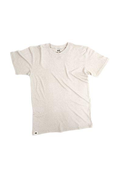 RCM CLOTHING / T-SHIRT BASIC | NATURAL WHITE  Sustainable Hemp Wear, 55% hemp 45% organic cotton jersey http://www.rcm-clothing.com/