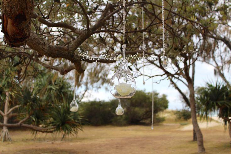 Details of the ceremony at Len Wort Park Currumbin  Styling by www.breezeweddings.com.au #lenwortpark #tugunwedding #breezeweddingsaustralia #lenwortparkwedding #wedding #goldcoastwedding #australiawedding #whitethemewedding #currumbinwedding #hangingdecor #weddingceremony #dreamwedding #beautiful #свадьбававстралии #австралия #свадьба #невеста #свадьбамечты #lovemyjob  #vowls #love #свадьбазаграницей