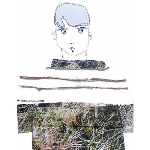 #boy #portrait #illustration #sketchbook #mystupidsketchbook