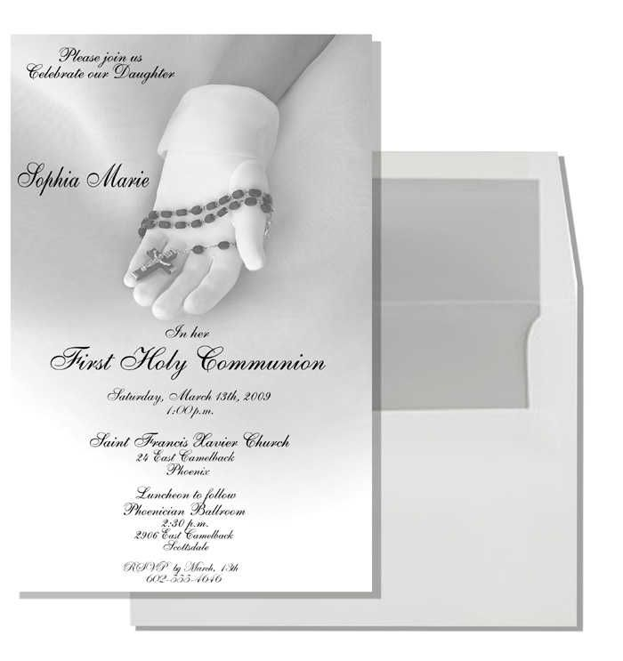 Communion Invitations | Communion Invitation Cards | Invitation | Girls First Communion | Holy communion invitations, Communi…