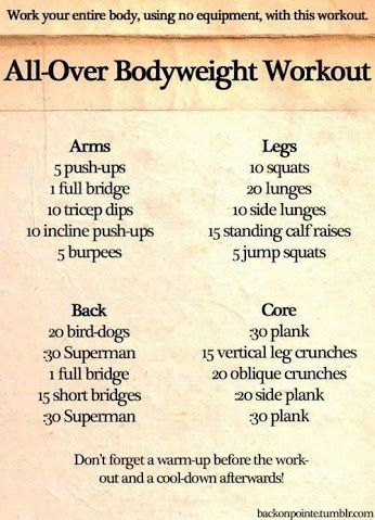 Total body #workout YOUR HEALTH - Community - Google+