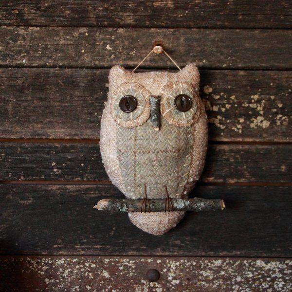 Buho primitivo arte popular Ornie ornamento