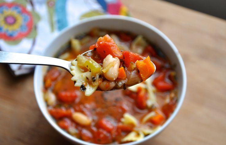 bean and pasta soup: White Beans, One Pots Meals, Pasta Soup, Soup ...