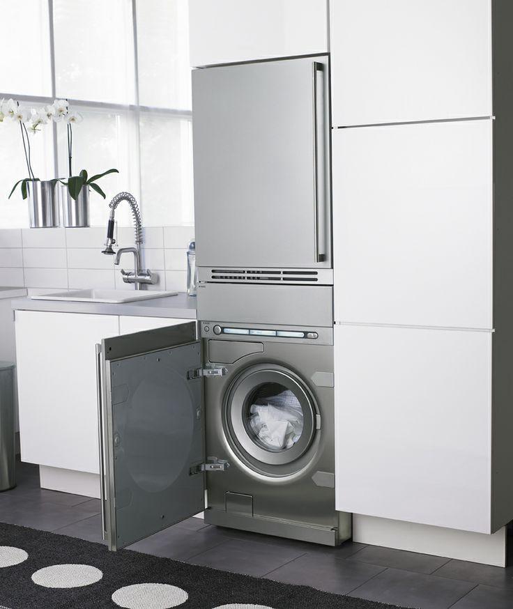 Asko integra la lavadora y la secadora en tu cocina for Cocina y lavanderia juntas