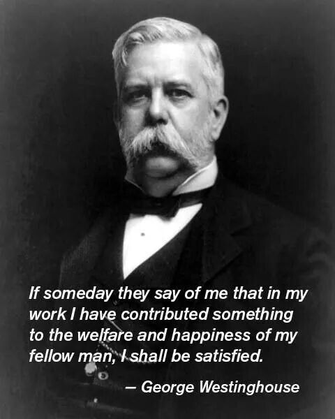 a biography of george westinghouse an american inventor and industrialist American engineer, inventor and industrialist short biography of george westinghouse george westinghouse - first american ac power plant.