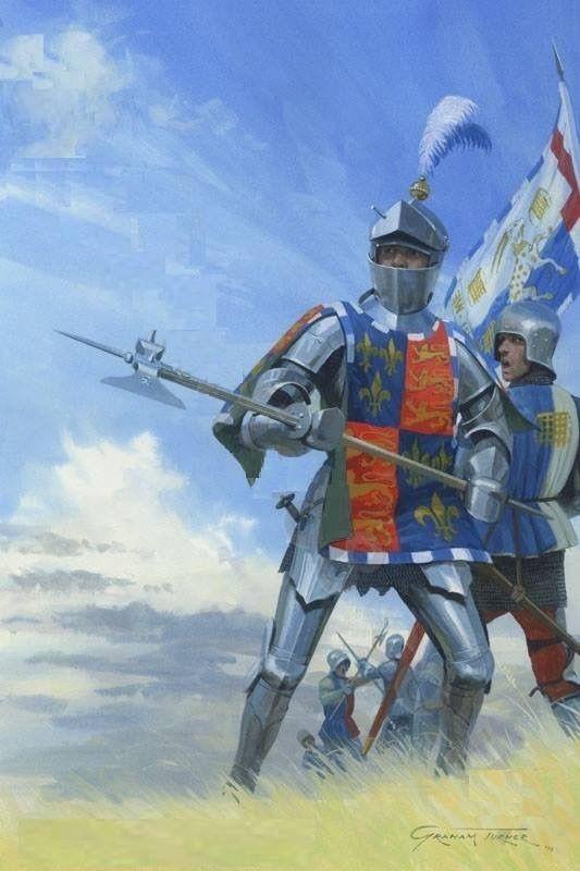 The Duke of Somerset at the Battle of Tewkesbury 1471 (Graham Turner)
