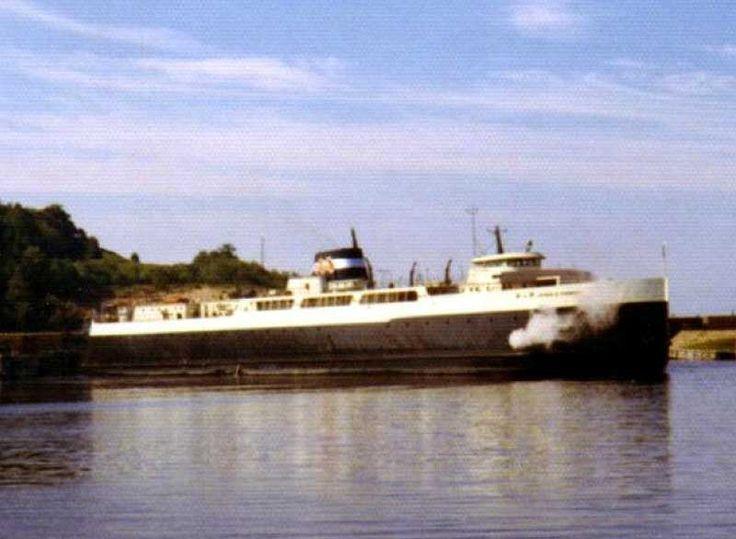 Car ferry Arthur K. Atkinson, Frankfort, MI, 1972