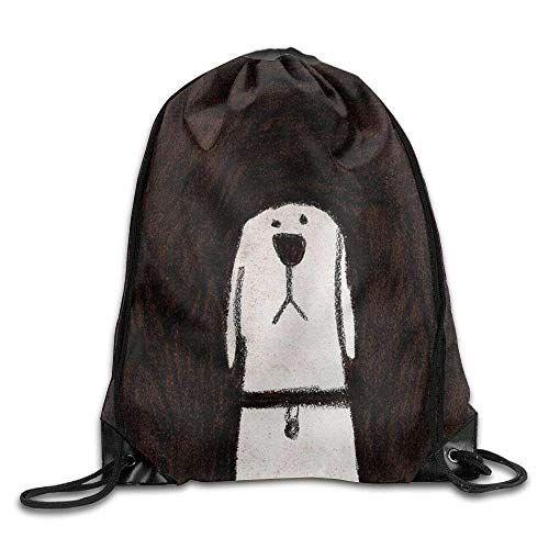 VIMUCIS Golden Retriever Drawstring Backpack Rucksack Shoulder Bags Training Gym Sack For Man And Women