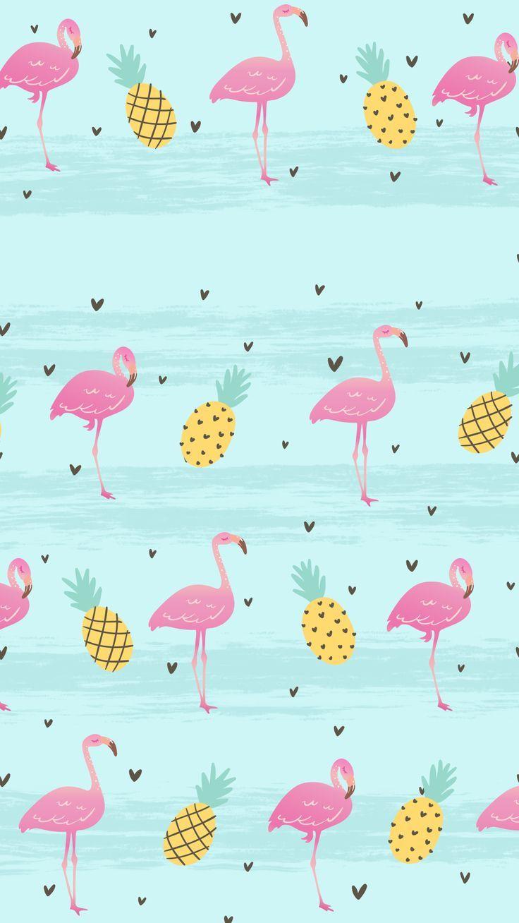 Tropical Flamingo Wallpaper By Gocase Flamingo Gocase Tropical