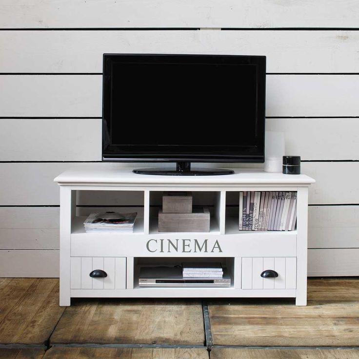 Mueble de TV blanco An. 120 cm | Maisons du Monde