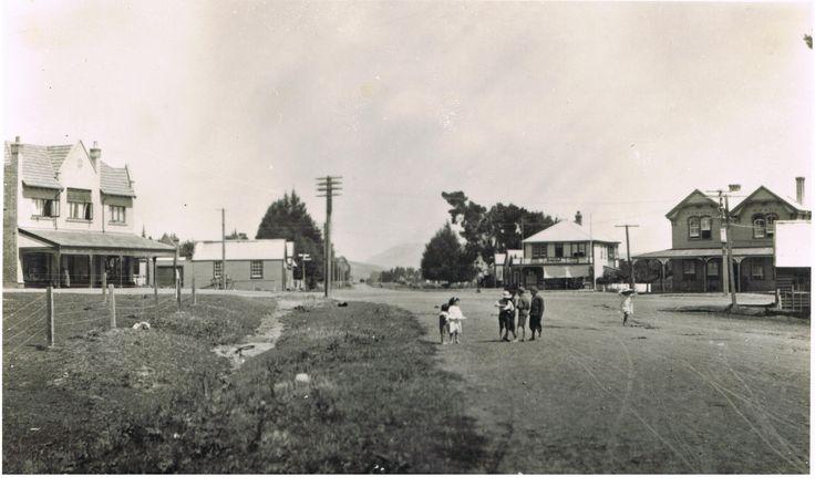 Havelock North Village Centre, pre 1914