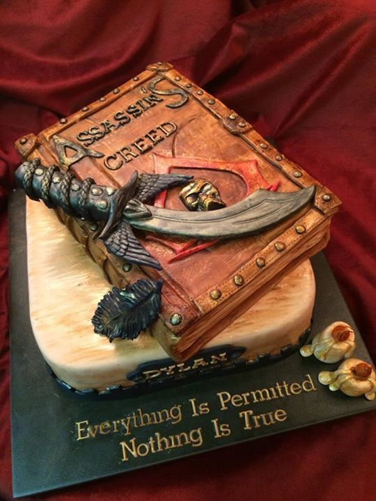 11 Best Assassin S Creed Cake Images On Pinterest