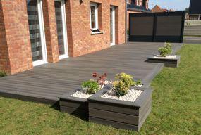 Terrasse en bois composite Feberon Xtrem