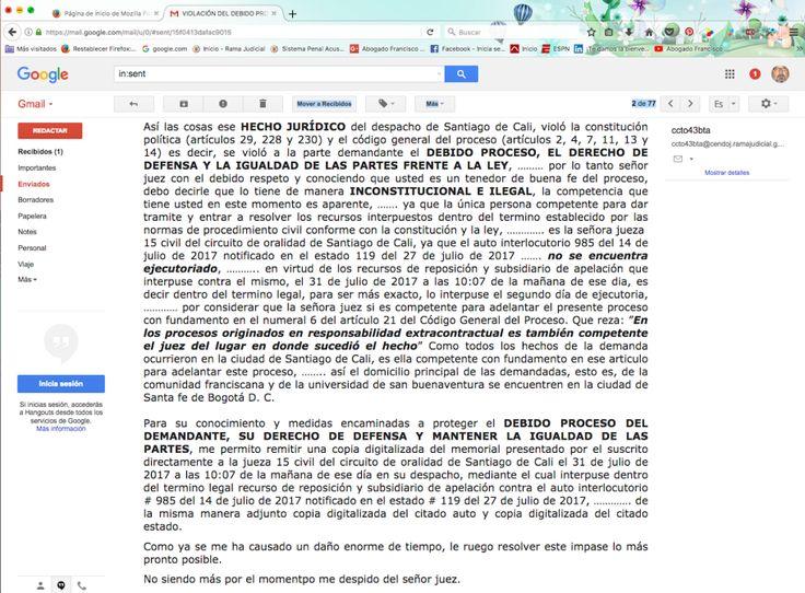 JUZGADO 43 CIVIL DEL CIRCUITO DE ORALIDAD DE SANTA FE DE BOGOTÁ D.C. | Franciscovelasco2011's Blog