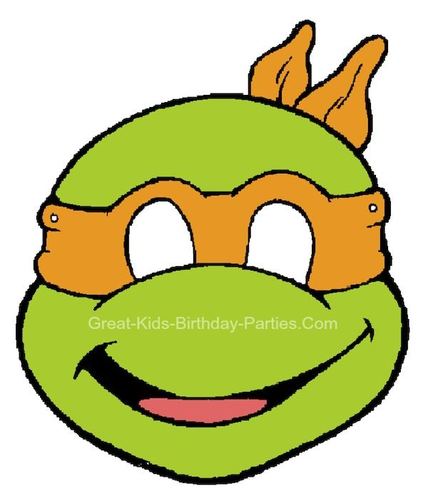Tmnt Printable Free Ninja Turtle Printables Ninjas Boy Party Ideas