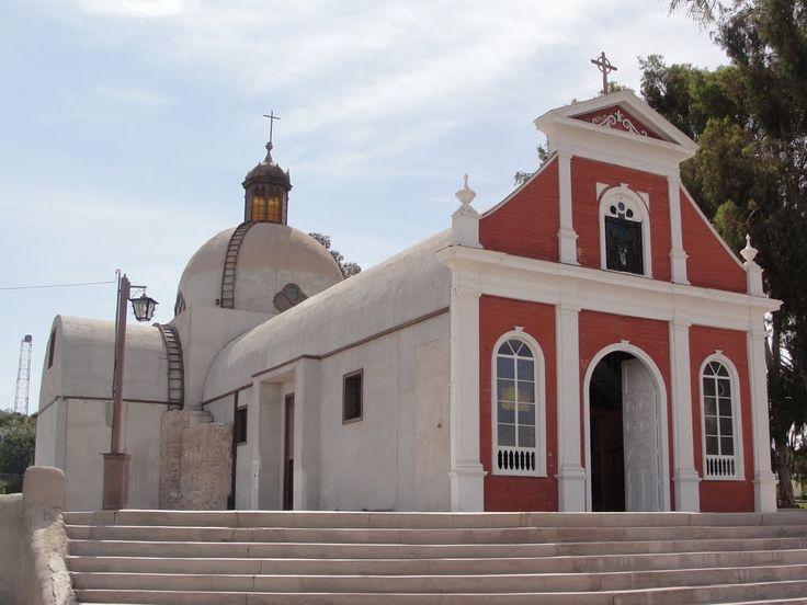 Iglesia de San Antonio de Padua, Matilla, Región de Tarapacá.