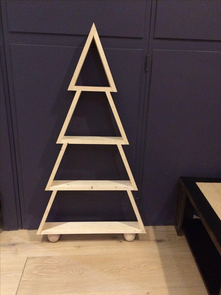 Edition 2016  Sapin Noel en bois  DIY - cours de menuiserie Angers  WWW.woodfabrique.com
