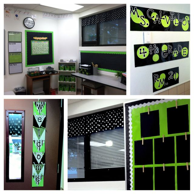 Classroom Decor Black ~ Best images about bright colored classrooms decor ☺️