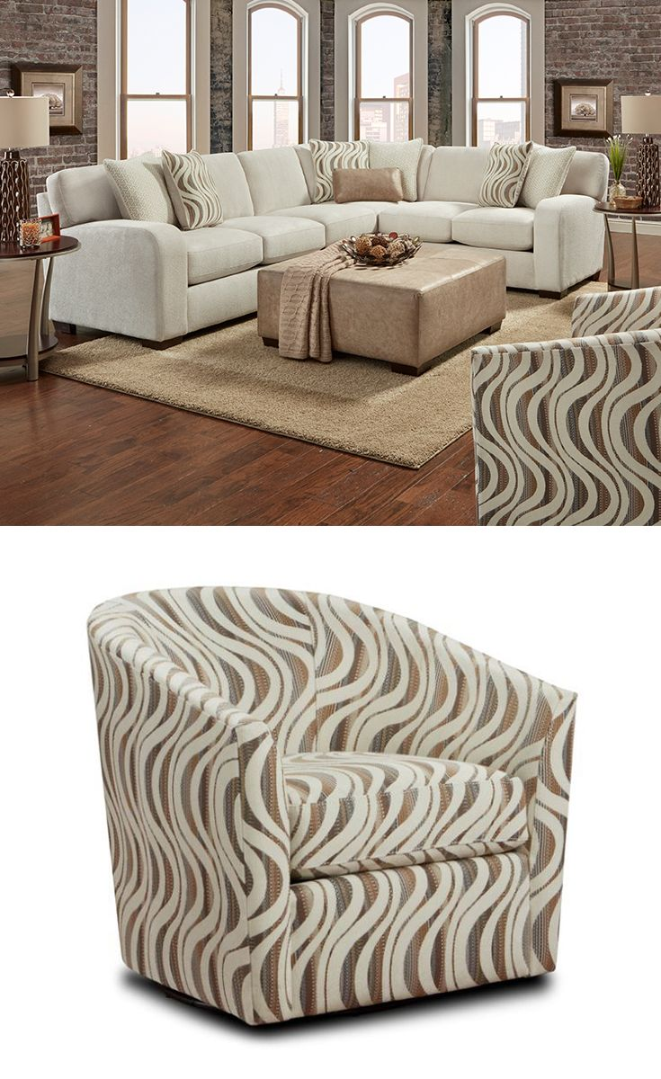 The Modern Design Of The Chandler Sectional Offers An Updated Look