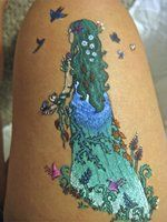 Mother Nature Tattoo | mother nature gel pen 2 1 year ago in henna temporary tattoos 2 ...