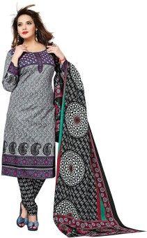 Dertaste Floral Print Kurta & Salwar