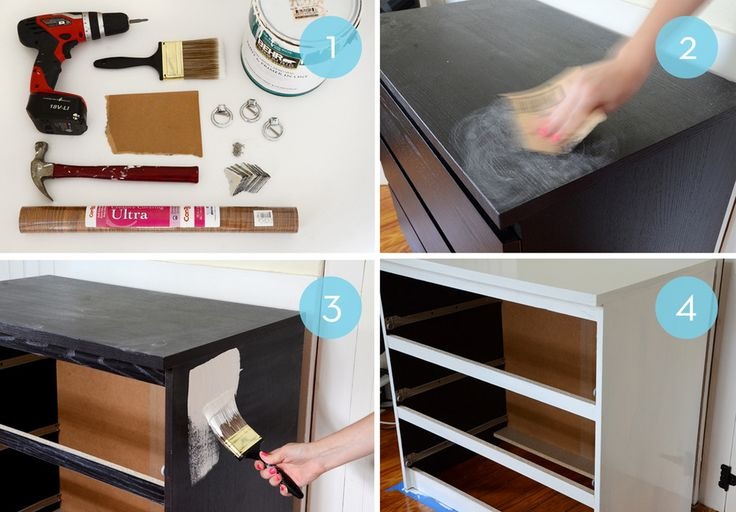 Before and After: An IKEA Malm Hack
