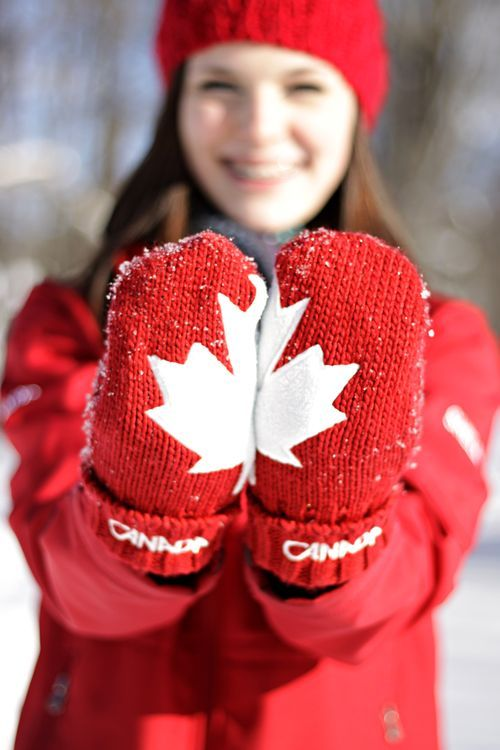 Canadian mitts.