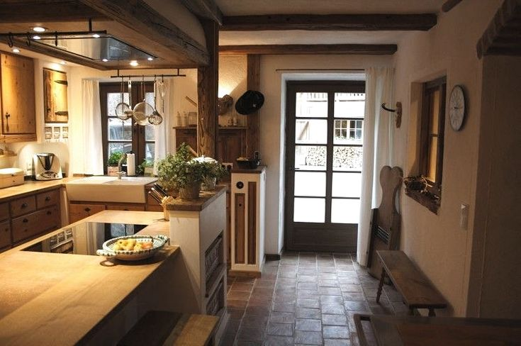 Romantische Küche, pastellfarbene Wand in 2020 Modern