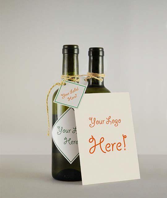Mockup per bottiglie per presentare i vostri progetti grafici