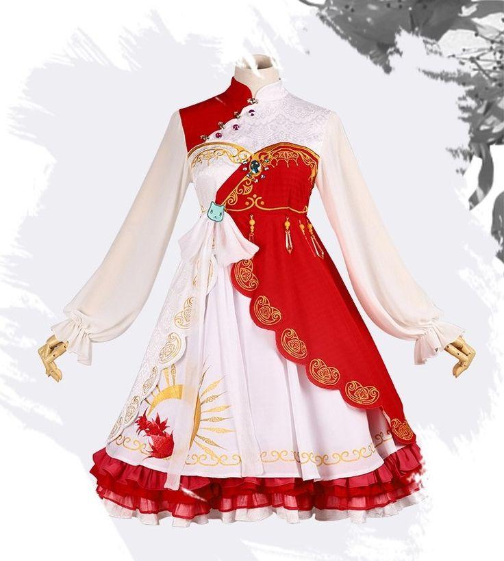 【三分妄想】新品 剑网三 中华风 原创洋装 连衣裙 明教 日常COS
