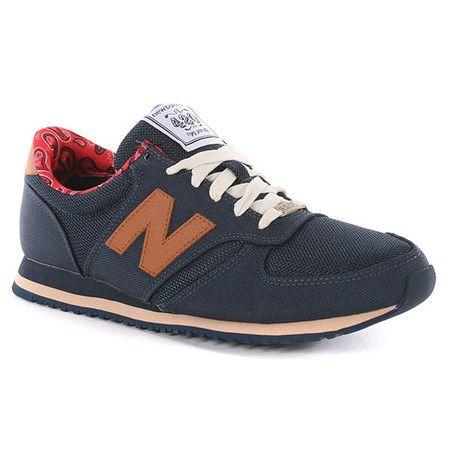 Herschel X New Balance 420 Hsn Shoes - Navy at Urban Industry (£60.00) - Svpply
