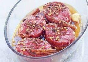 Recetas para marinar y sazonar carnes para asar #carne