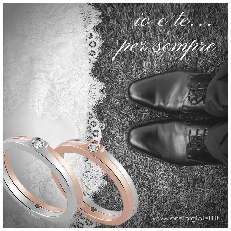 Esprimi il tuo desiderio di eternità! ♡  Perché se incontrarsi resta una magia, è non perdersi la vera favola. (Massimo Gramellini)  #eternallove #weddingbands #promisering