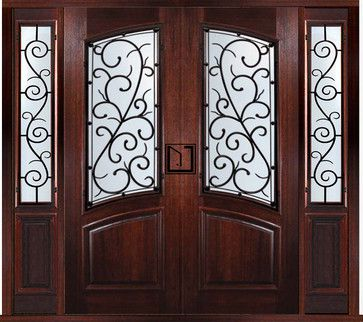 17 best Double Doors with Sidelights images on Pinterest | Double ...