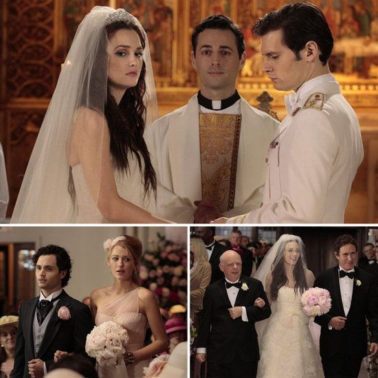 I don't even watch Gossip Girl but have been drooling over Blair's wedding dress!