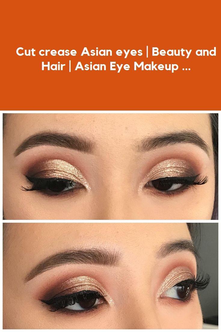 Cut crease Asian eyes | Beauty and Hair | Asian Eye Makeup ... #eye makeup #makeup #braid hairstyles #outfits #wedding hairstyles
